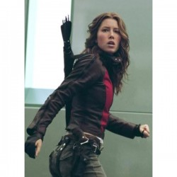 Blade Trinity Abigail Whistler Leather Jacket