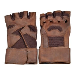 Captain America Civil war Real Leather Gloves