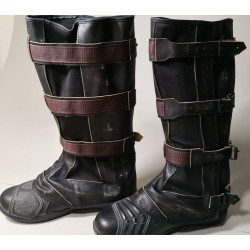 Captain America Steve Rogers Avengers 4 Endgame Boot Covers ( Gaiters )