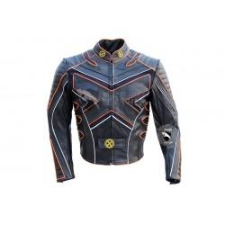 New X-Man 3 Wolverine Last Stand Biker Leather jacket