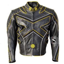 X-Men-3 Volverine Last Stand Biker Leather Jacket