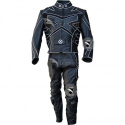 X-Men Volverine Biker Leather Costume