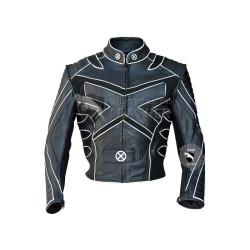 X-Men Volverine Biker Leather Costume