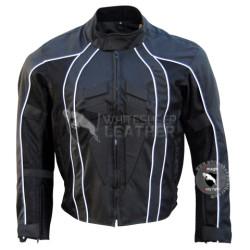 Textile Motorbike black  jacket (Free shipping)