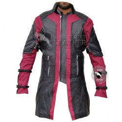 Avengers Age of Ultron Hawleye Leather Coat