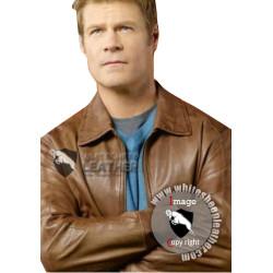 Father Jack Landry V Series Joel Gretsch Leather Jacket