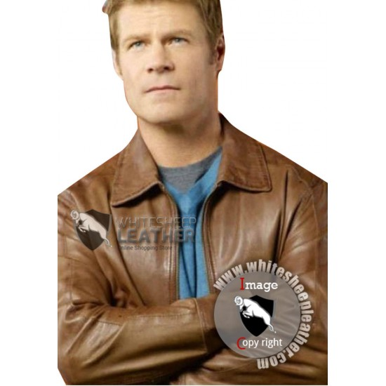 Father Jack Landry V Series Joel Gretsch Leather Jacket