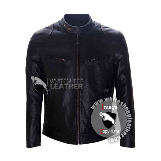 Flash Point Donnie Yen Leather Jacket