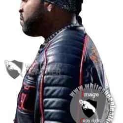Ice Cube Torque Trey Wallace Schott Leather Jacket (Free Shipping)