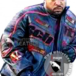 Ice Cube Torque Trey Wallace Schott Leather Jacket (Free Shipping)