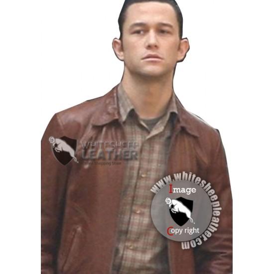 Inception Arthur Joseph Gordon Levitt Leather Jacket (Free shipping)