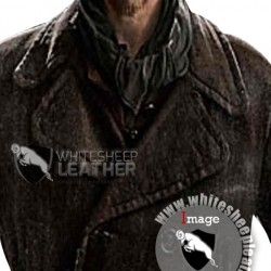 Inglourious Basterds Brad Pitt Leather Jacket (Free shipping)