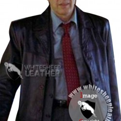Insomnia Detective Will Dormer Al Pacino Black Leather Jacket (Free Shipping)