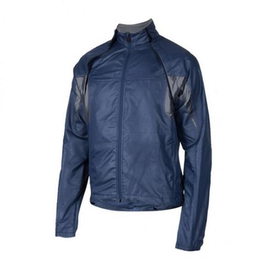 Blue and Black Leather Motorbike Jackets