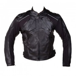 Fashionable Designer Men Black Leather Jacket