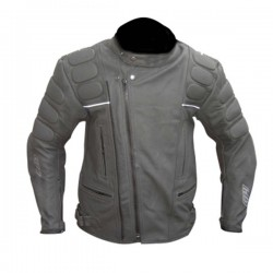Designer Casual Black Motorcycle Leather Jacket