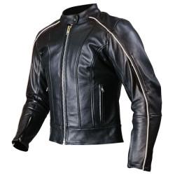 Trendy Men Fashion Black Motorcycle Leather Jacket