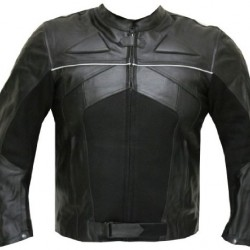 Trendy Fashionable Black Motorcycle Leather Jacket