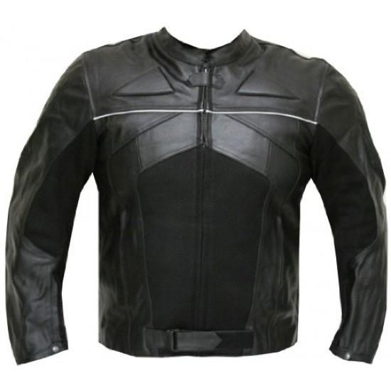 Trendy Fashionable Black Motorcycle Leather Jacket