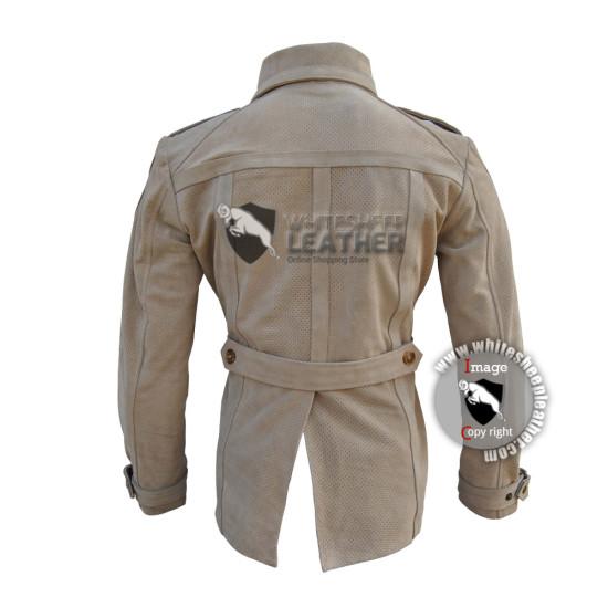 Captain America Civil war Scarlett Johansson Black Widow Leather Jacket