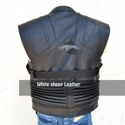 Avengers Jeremy Renner Hawkeye Leather Vest