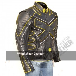 X Men 3 Wolverine Last Stand Motorcycle Leather Jacket