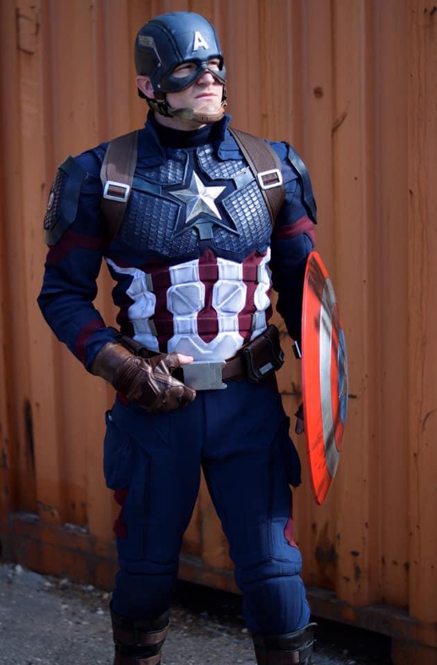 Avenger 4 endgame Captain America suit product code : WS-5522
