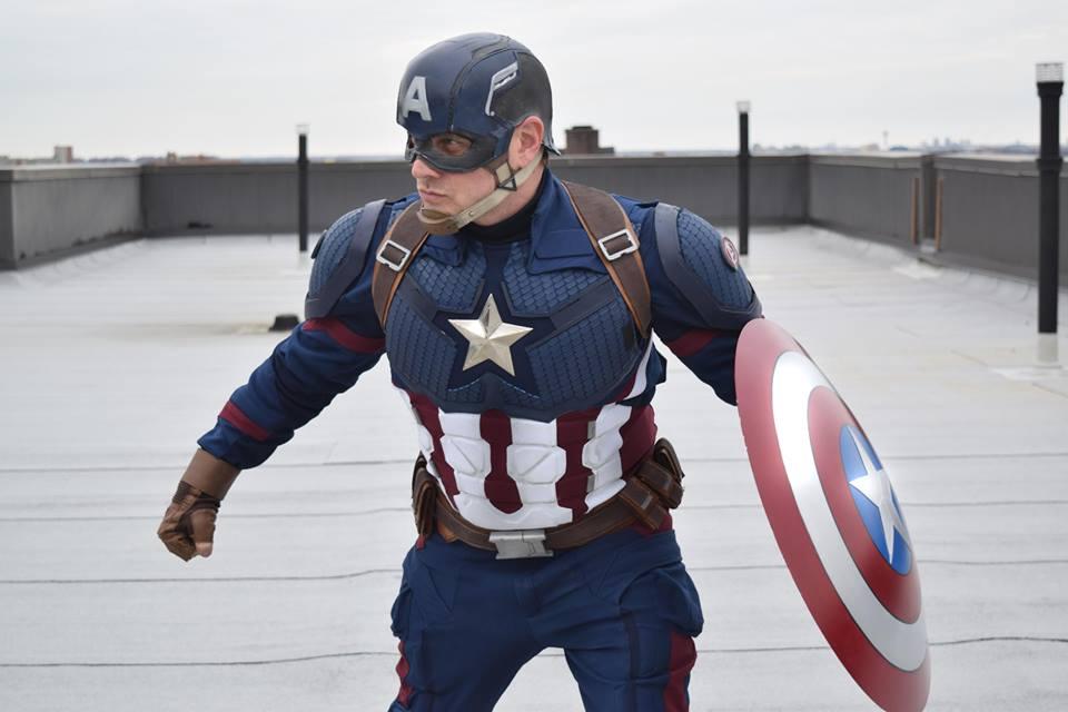Avenger 4 endgame Captain America suit product code : WS-5522 ( Cosplayer Dan Gottlieb)
