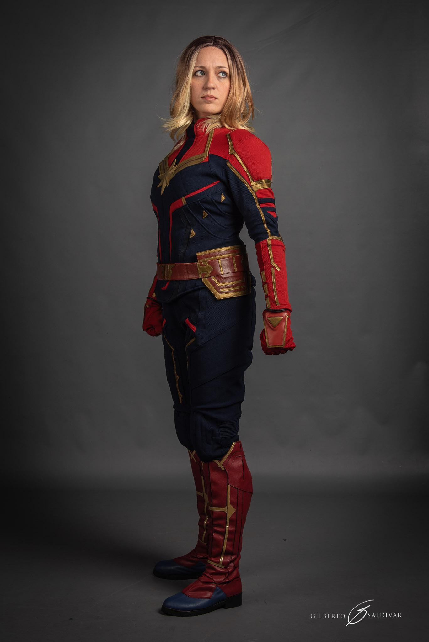 Carol Danvers Captain Marvel movie costume suit Product Code : WS-2404