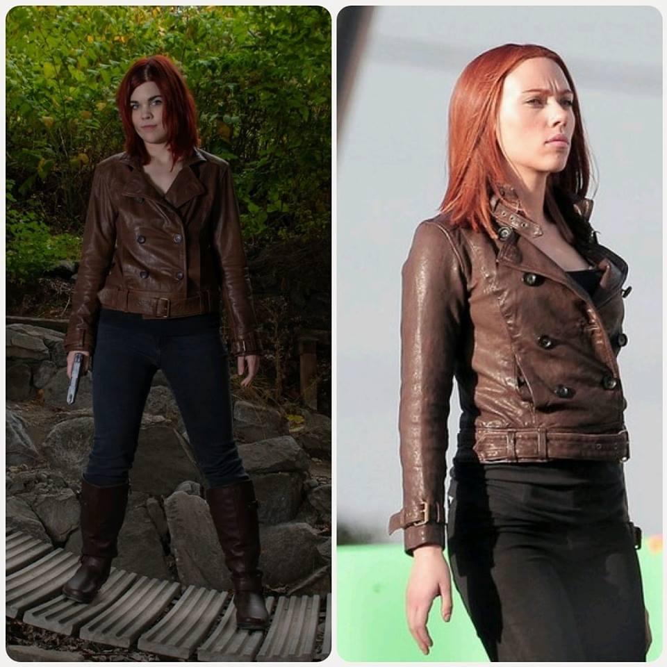 The-Winter-Soldier-Scarlett-Johansson-Black-Widow-Brown-Leather-Jacket