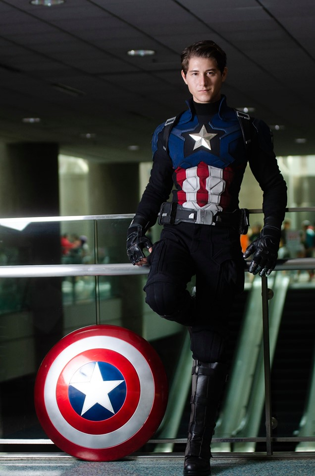captain America bucky Costume suit product code : WS-5544