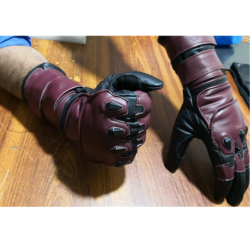 Matt Murdock Daredevil season 2 leather Gloves