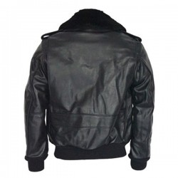 Men's Bomber Flight Leather Jacket