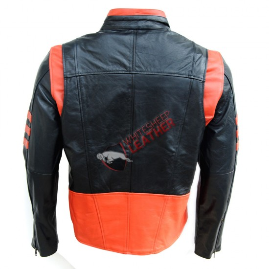X-Men Origins Wolverine Black Leather Jacket
