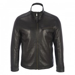 Classic Slim Fit Black Leather Jackets