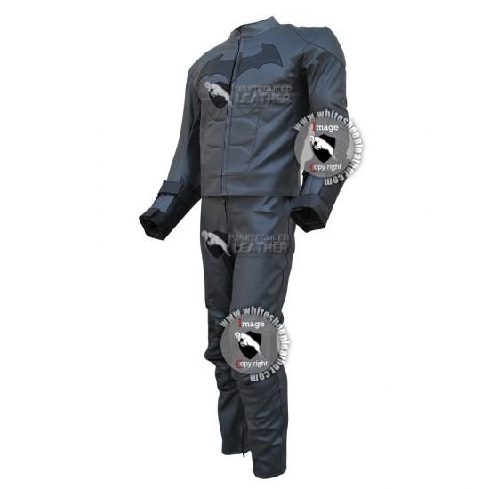 Batman Arkham Knight costume leather Suit (Free Shipping)