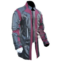 Avengers 2 age of ultron Jeremy Renner Movie Coat (textured stretch fabric )