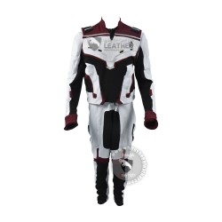Avengers End Game : Avengers Quantum Realm White Suit (Textured Stretch Fabric ) (updated design )