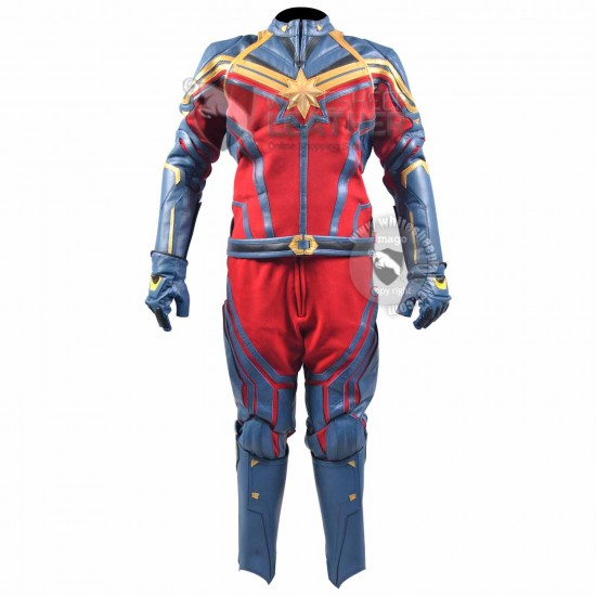 Brie Larson captain Marvel Endgame Costume suit