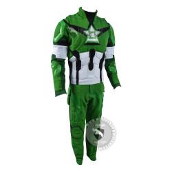 Captain America and Green Lantern Mash Up Costume