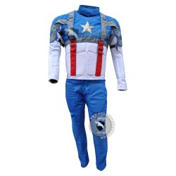 Captain America The First Avenger Chris Evans Costume Suit