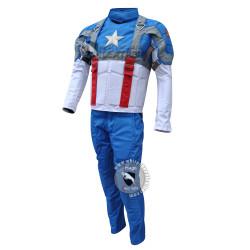 Captain America The First Avenger Chris Evans Costume Suit