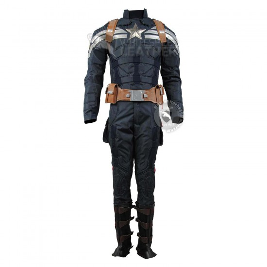 Captain America stealth strike suit cosplay