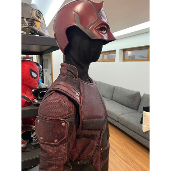 Daredevil season 2 Matt Murdock costume suit  (Screen Printed Lycra Suit ) (  without Accessories )