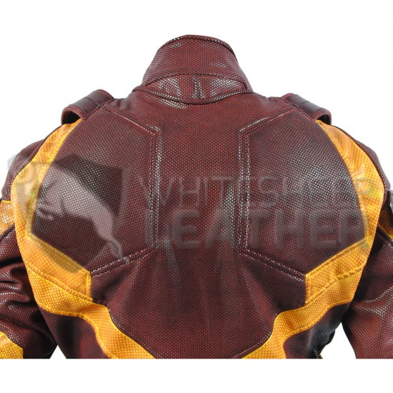 Daredevil season 2 Yellow and Red costume suit  (Screen Printed Lycra Suit ) +  Accessories  (weathered )