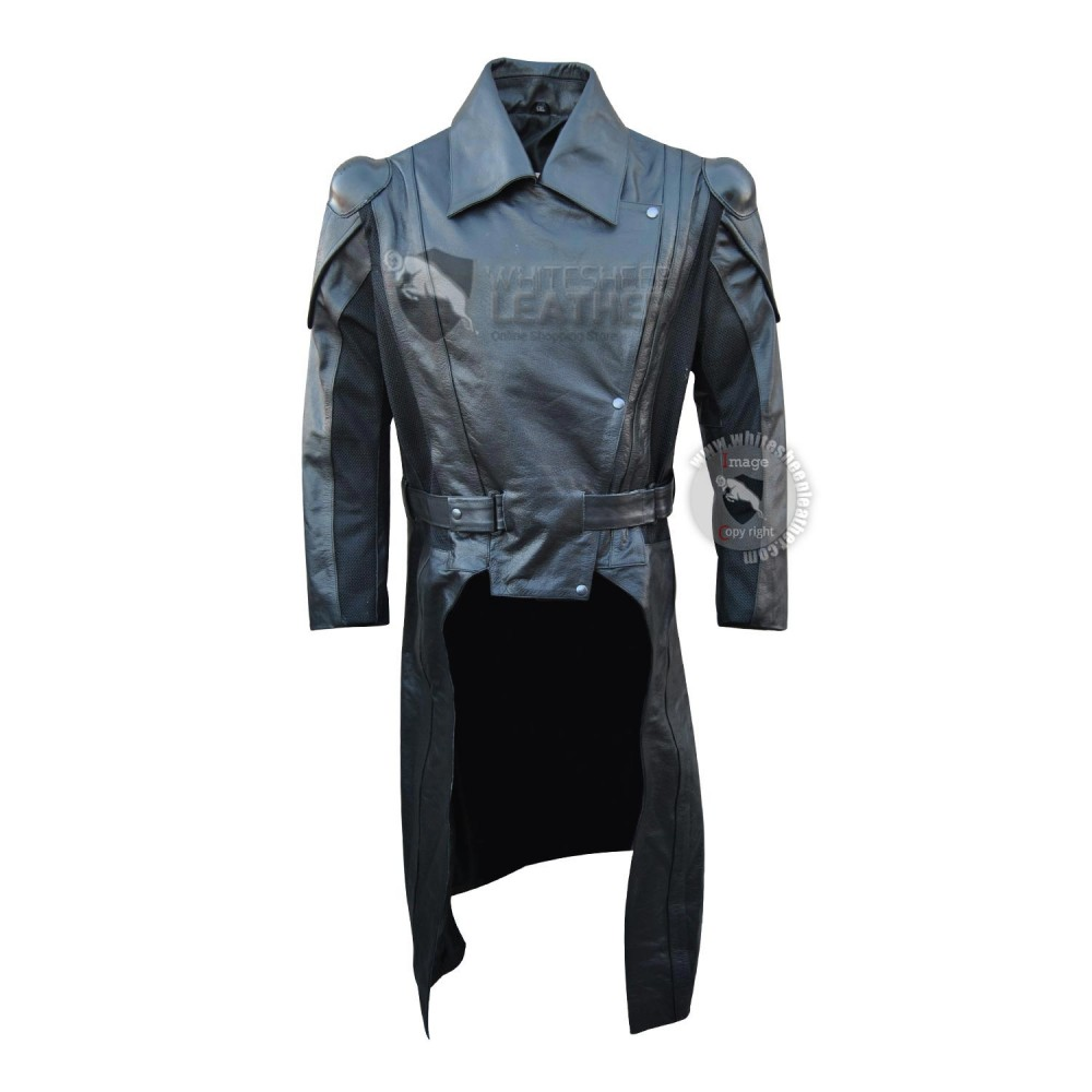 GI JOE Cobra Commander Retaliation Leather Coat