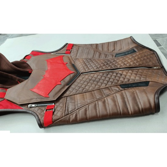 Gotham Knights Red hood Leather Suit