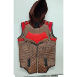 Gotham Knights Red hood Leather Vest