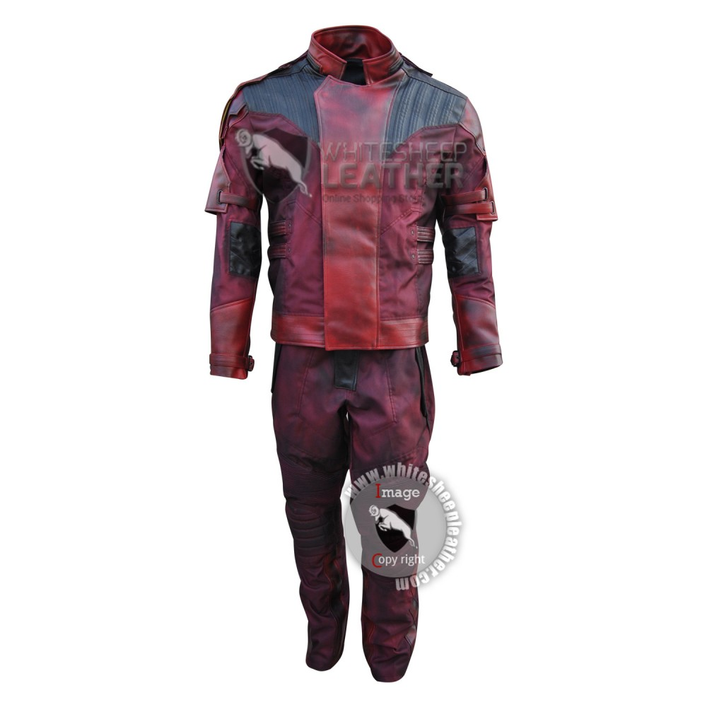Guardians of the Galaxy Vol. 2 star Lord Chris Pratt Costume suit