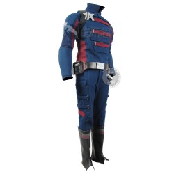 The Falcon and the Winter Soldier : US Agent Costume suit (Textured Stretch Fabric )